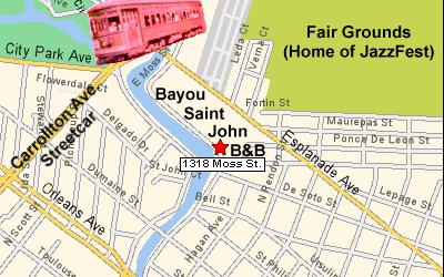 New Orleans Neighborhood Series: Fairgrounds